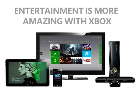 Entertainment is More Amazing on Xbox