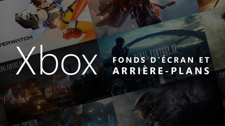 Fonds d'écran et écrans de veille Xbox gratuits