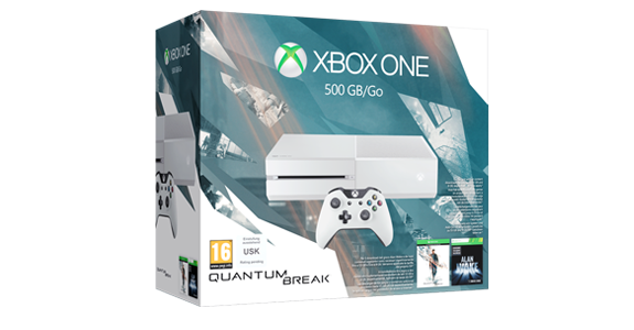 Xbox One 500GB Special Edition Quantum Break Bundle