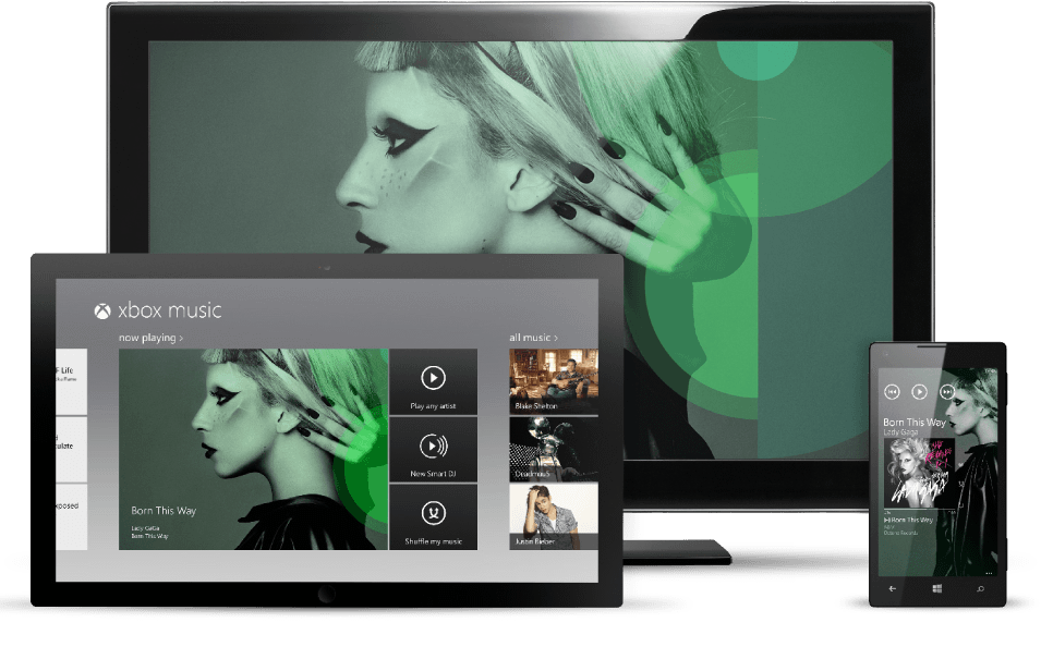 Microsoft's Xbox Music