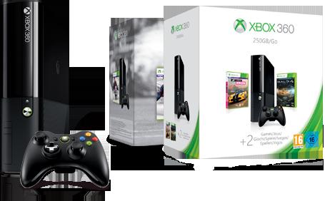 Finde die passende Xbox 360 Konsole.