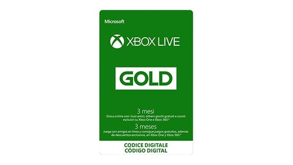 3 mesi di Xbox Live