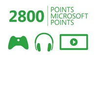 Xbox Live 2800 Microsoft Points