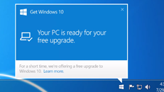 Where's my Windows 10 upgrade?