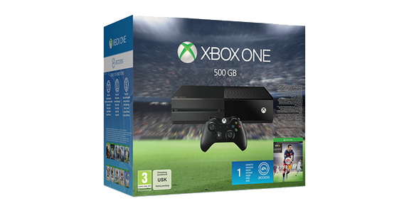 Xbox One 500GB EA SPORTS™ FIFA 16-Bundle