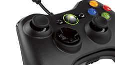 Connect an Xbox 360 wired controller to your PC