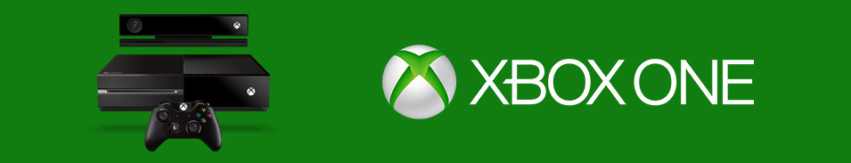 Xbox One with kinect and Xbox logo