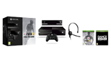 Xbox One purchase includes Xbox One console, chat headset, and Forza Motorsport 5 - small