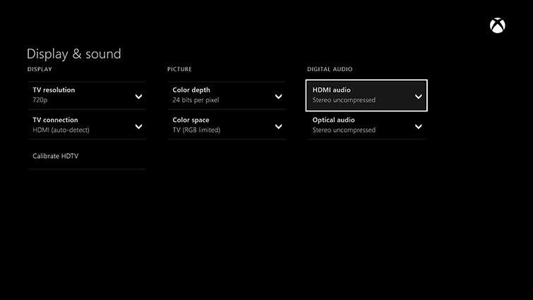 [Soluzione] Xbox One Audio Debole o Assente