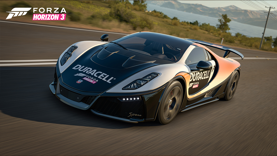 forza motorsport duracell car pack. Black Bedroom Furniture Sets. Home Design Ideas