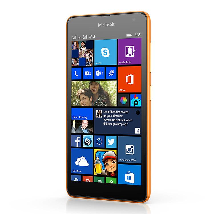 Wyatt wants microsoft lumia 535 dual sim windows 10 can choose