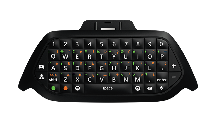 Photo du clavier Messenger Xbox One