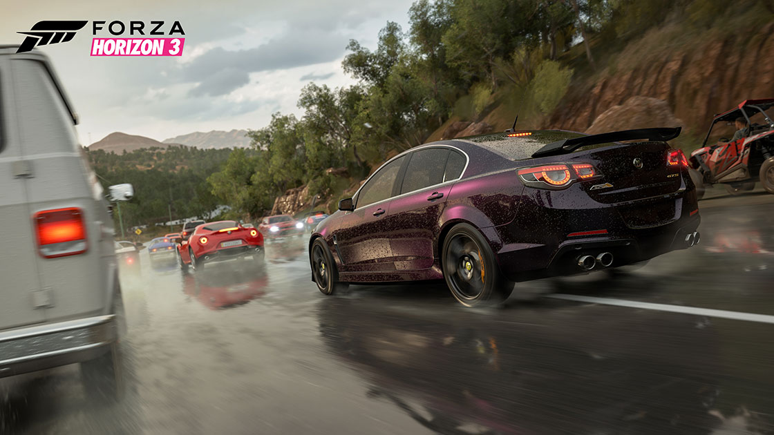 Forza Motorsport - Forza Horizon 3 October 14 Update
