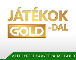 Ajándék játékok Gold tagoknak
