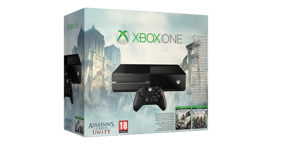 Xbox One Assassin's Creed Unity gépcsomag