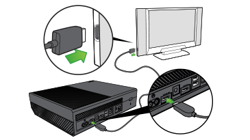 how to hook up xbox one through cable box How to hook up an xbox to a directv box how to show one latest post per author on and directv box step 3 connect the xbox power cable to the back of.