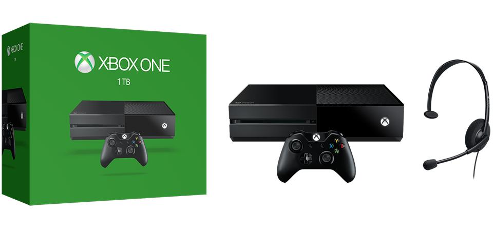 Xbox One 1TB banner