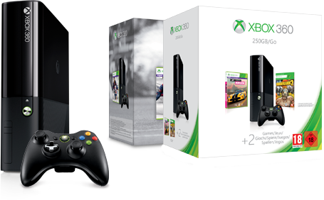 Trova la console Xbox 360 adatta a te.
