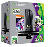 Xbox 360 250GB Kinect Holiday Bundle