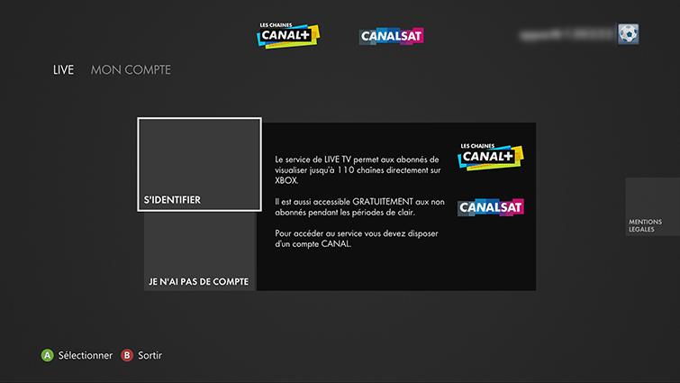Configurer Et Utiliser L Application Canal Canalsat Sur Xbox 360