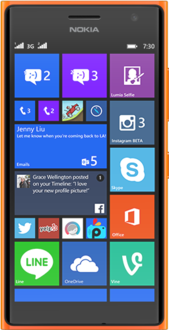 Aide de Lumia with Windows Phone 8