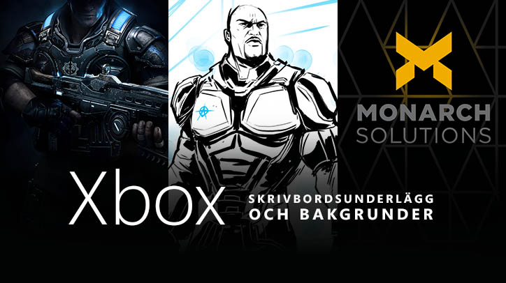 Gratis skrivbordsunderlägg och bakgrunder från Xbox