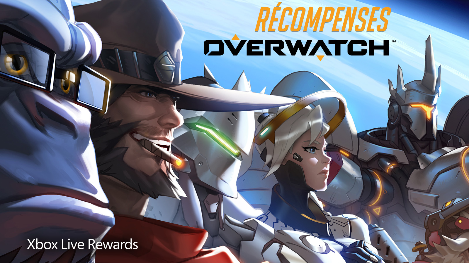 Overwatch members live rewards