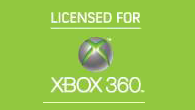 The 'licensed for Xbox 360' logo for third-party products