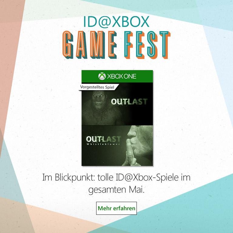 Sale von ID@Xbox-Spielen | Xbox One