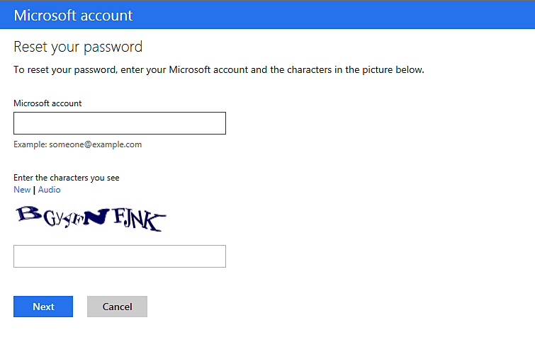 how to find your microsoft password on xbox