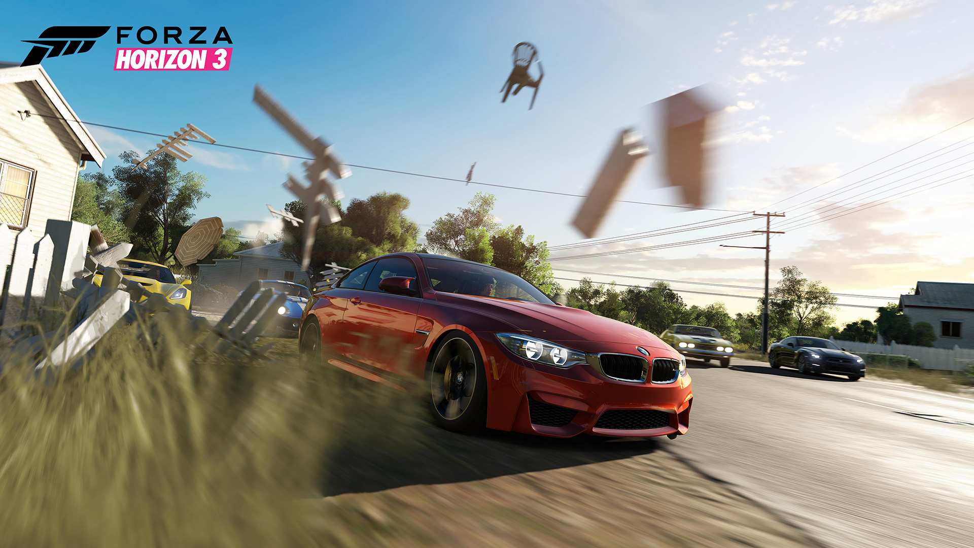 Forza Horizon 3 now Xbox One X enhanced