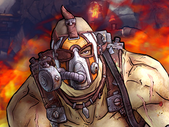 MEET KRIEG THE PSYCHO BANDIT - NEW BORDERLANDS 2 ADD-ON NOW AVAILABLE