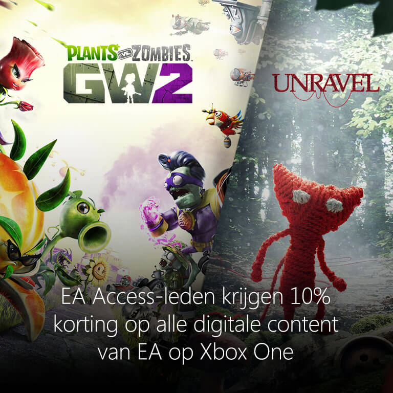 Plants vs Zombies: Garden Warfare 2 | Unravel | EA Access | Xbox One