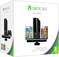 Οικονομικό Πακέτο Xbox 360 4GB Kinect