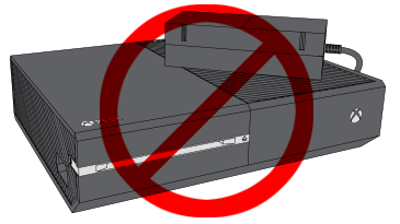 Ventilation for the Xbox One console
