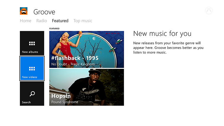 how to add music to groove music xbox one