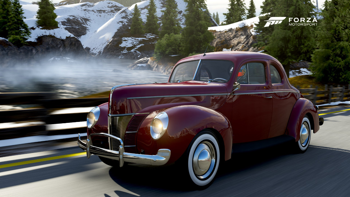 1940 Ford De Luxe Coupe - Photo by BadRiver & Forza Motorsport 6 - Cars markmcfarlin.com