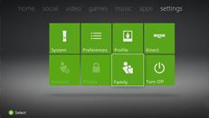 Rodičovská správa vkonzoli Xbox