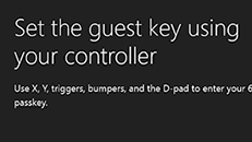 Change the guest key on your Xbox One console