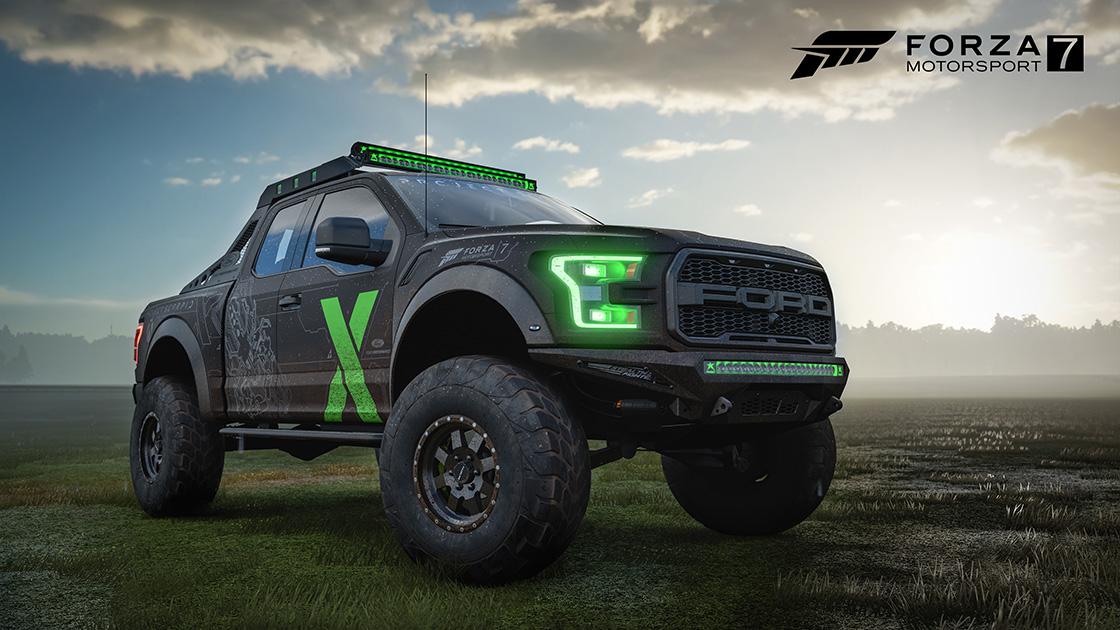 Forza Motorsport 7: Ford F-150 Raptor Xbox One X Edition als ...