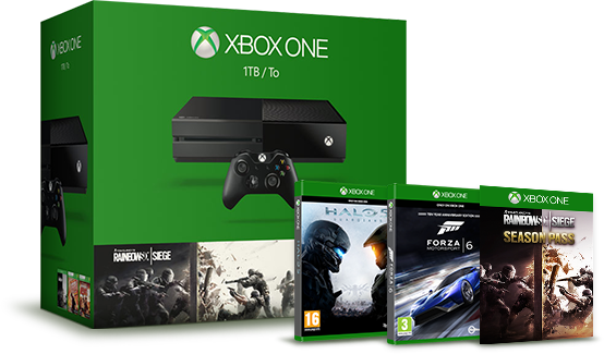Tom Clancy's Rainbow Six Siege Xbox One Bundle