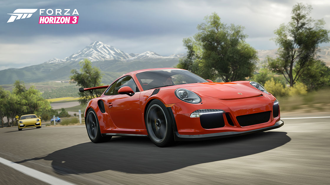 Forza Motorsport Porsche And Forza Together