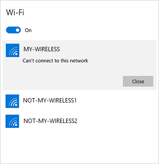 can t connect microsoft surface to wi fi surface sees wireless network but can t connect. Black Bedroom Furniture Sets. Home Design Ideas