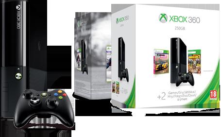 Löydä sinulle sopiva Xbox 360 -konsoli.