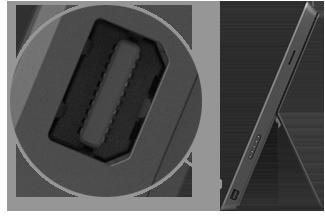 Mini DisplayPort on Surface Pro and Surface Pro 2