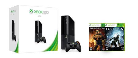 Paquete Xbox 360 250GB y dos juegos