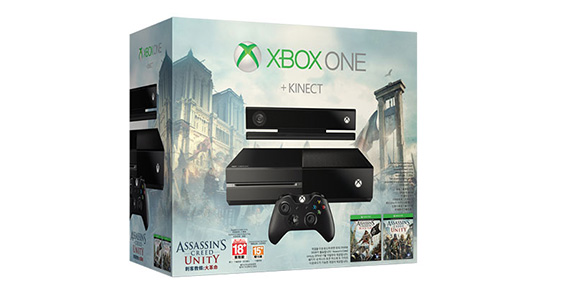 Xbox One Kinect Assassin's Creed Unity 번들