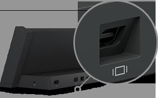 Surface 3 docking station Mini DisplayPort