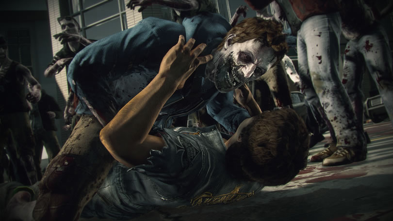 Dead Rising 3 zombie grapple screenshot