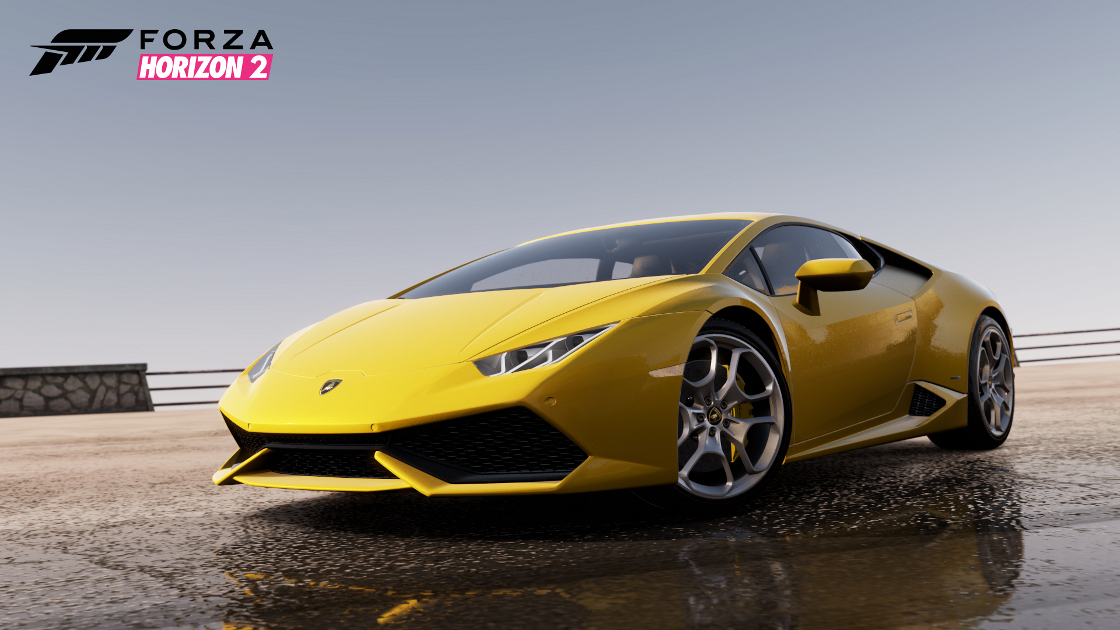 Forza 6 vs Forza Horizon 2- Rain Effects Comparison - GameOnDaily